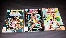 ARAK Son Of Thunder 1985 Comics Set of 3 Roy & Dan Thomas Tony De Zuniga