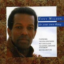 """TONY WILSON (HOT CHOCOLATE) """"Do Your Own Thing"""" TERRIFIC BEST OF SOLO SIDES CD!"""