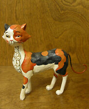"Jim Shore Heartwood Creek #4037658 ""CALLIE"" WALKING CALICO CAT,  Enesco"