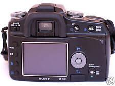 """ACMAXX 2.5"""" HARD LCD SCREEN ARMOR PROTECTOR SONY alpha A-100 DSLR-A100 Body Kit"""