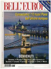 BELL'EUROPA 133 AKAMAS TRIGLAV MALTA BUDAPEST PAESI BALTICI LITOMYSL BRATISLAVA