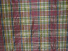 "Lee Jofa ""Saville Silk Plaid"" by the yard, color spring"