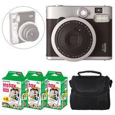 New Fuji Instax mini 90 Neo Classic Instant Film Camera + 60 Shots Film + Case