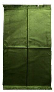 Plain Islamic Prayer Rug Janamaz Muslim Namaz Seccade Solid 11 Colors 43x27