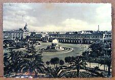 Bari - Piazza Roma - stazione [grande, b/n, viaggiata]