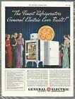 1934 General Electric REFRIGERATOR advertisement, MONITOR-TOP fridge photo