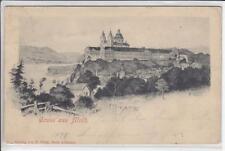 AK Stift Melk, Künstler-AK 1898