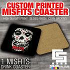 MISFITS DRINK COASTER print photo artwork design beer bar band punk rock