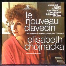 Le nouveau clavecin Elisabeth Chojnacka Xenakis Ligeti Marco Mâche... LP & CV NM