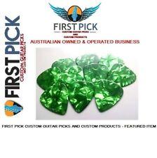 Guitar Picks pack of 10  Green Pearl .96mm  from First Pick Custom Guitar Picks
