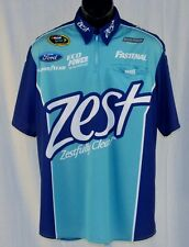 2015 Ricky Stenhouse Zest Race Used NASCAR Pit Crew Shirt large