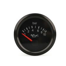 Oil Pressure Meter Gauge 2in 12 Volt 0-10 BAR For Car Boat Truck Universal 52mm