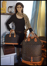 Louis Vuitton Monogram French Co. Double Compartment Steamer Tote Bag w Strap