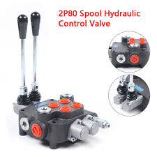 2 P80 Spool Hydraulic Control Valve For Tractors Loaders Amp Log Splitters 315mpa