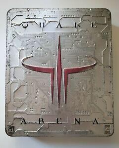 Quake III 3 Arena - Big Box - Metal Tin - Steelcase / Steelbook / Steel Cover