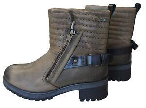 YELLOW CAB Damen Boots Stiefeletten Y26148 Stiefel Moss braun