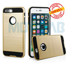Funda gran calidad Apple Iphone 7 / 8 Plus 5.5´ antigolpes slim armor dorada
