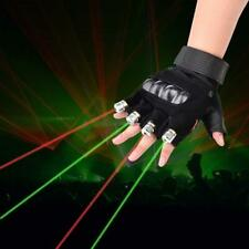 LED Laser Glove - Green Light Left Hand Only (SHIPS FROM USA)