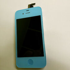 Light Blue LCD Display Touch Screen Digitizer Assembly Replacement for iPhone 4