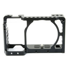 NICEYRIG DSLR Camera Cage for Sony A6000 A6300 A6500 with Cold Shoe New Version