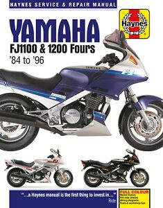 Yamaha FJ1100 & 1200 Fours (84 - 96) Haynes Repair Manual