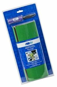 "Yudu Flocking Material Green, Brown NEW  Screen-printing 12"" x 16"""