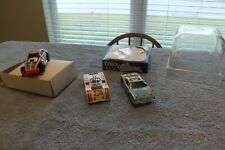 Vintage AFX Slot Cars Group of 3 TCR Car A Car B