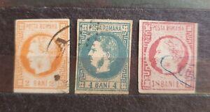 Romania 1868 King Carol 3 Value Used A34