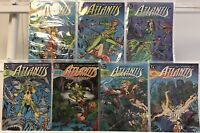 ATLANTIS CHRONICLES (1990) #1 2 3 4 5 6 7 VF/NM 1-7 PETER DAVID DC COMIC SET LOT