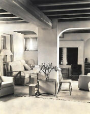 Horst P Horst Beautiful1938 Architectural Interior Stamped 8x10 B&W Photograph