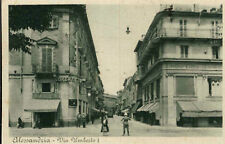 ALESSANDRIA - VIALE UMBERTO I°  - 1942 - TRAM