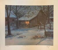 "Lowell Davis  ""The Birth Of Blossom""   Ltd. Ed  S/N   60/450  **Mint Condition**"