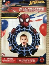 Spiderman Inflatable Selfie Frame - Air Filled, No Helium Needed - Party Fun