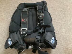 Diving equipment..Dive Rite Trans Pak 2 with Dive Rite Recwings wing M / L