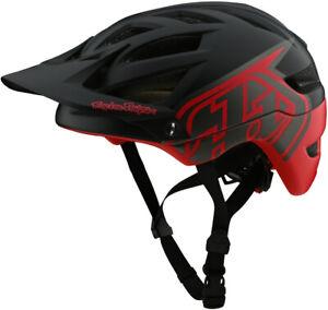 Troy Lee Designs A1 MIPS MTB Bike Helmet Classic Black/Red