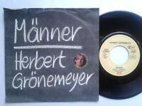 "Herbert Grönemeyer / Männer 7"" Vinyl Single 1984 mit Schutzhülle"
