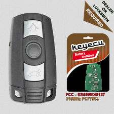 Replacement Remote Key Fob 315MHz PCF7953 for BMW 3 5 Series All CAS3 CAS3+