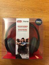 iHome - Star Wars Li-M40BB.FXv7M Over-the-Ear Headphones - Black/gold