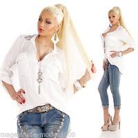 YOUR&SELF Bluse Tunika Fischerhemd
