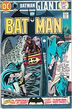 BATMAN 262 - SCARECROW APP (BRONZE AGE 1975) - 8.0