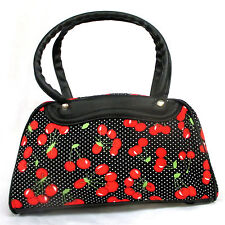 Sac à main cérises Pin-Up Bowling Rockabilly Rock'n'Roll Vintage Retro 50's 1950