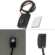 DC12V/200mA Car Push Button Latching Turn ON/OFF Switch LED Light RV Truck BLACK