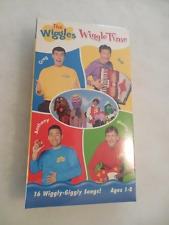 The Wiggles Wiggle Time VHS Brand New Sealed & Careful Quick Shipping