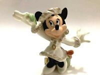 Minnies Christmas Wish Lenox Disney Handpainted Porcelain Figurine Minnie Mouse