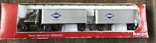 Herpa HO Scale 1/87 Truck. Not Sure If Original, Overnite Trailers, UPS Truck