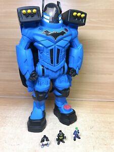 Imaginext DC Super Friends Batbot Xtreme Playset Voice Changer Inc Figures