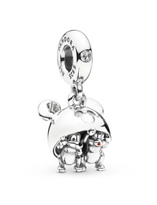 Authentic Pandora Disney Parks Chip 'n Dale Chipmunks S925 ALE Charm 797992ENMX