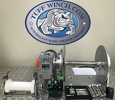 Electric Anchor Winch DRUM WINCH free deck roller
