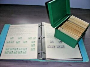 CANADA, 100s of Stamps in glassines & a Specialized collection hinged on pages