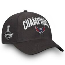 fcd28f5048b Washington Capitals YOUTH ALL CAPS 2018 Stanley Cup Champions Hat Cap  Adjustable